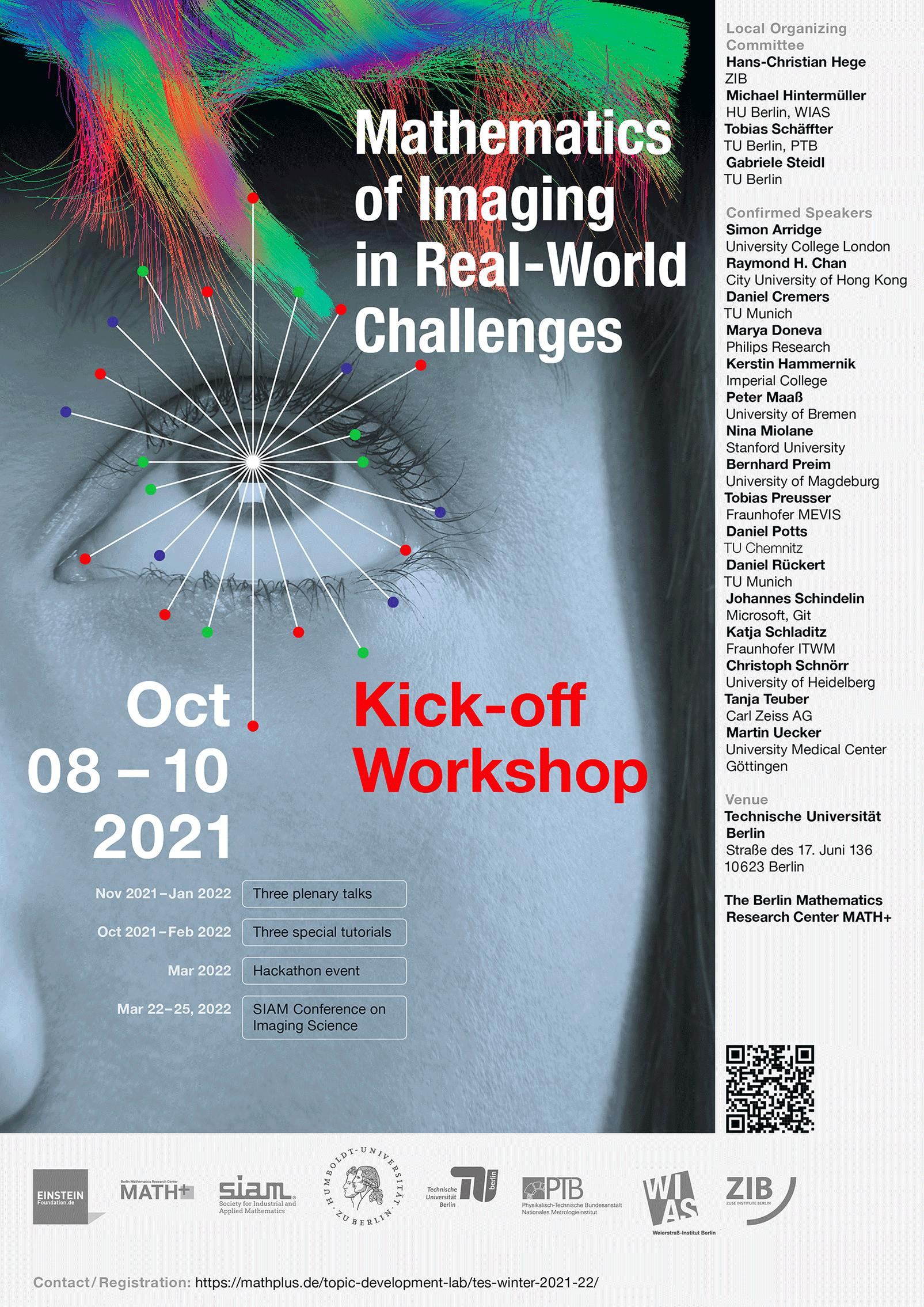 Poster with the outline of the Kick-off workshop programme